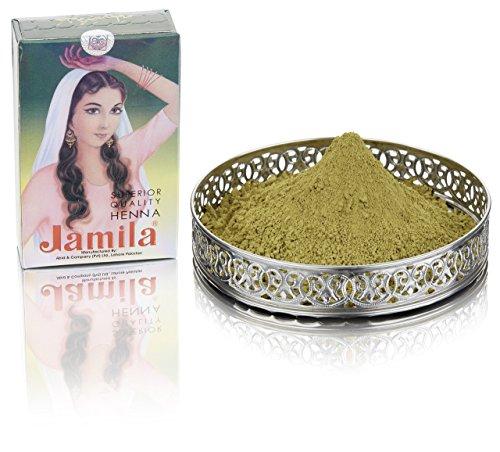 Jamila Henna   Henna Pulver   Henna für die Haut   Henna für die Haare   Ernte 2017 (Natürliche Henna-pulver)