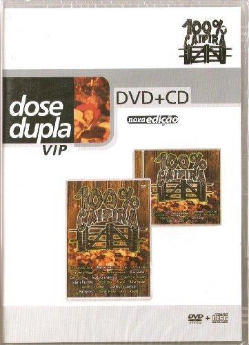 Preisvergleich Produktbild DVD + CD - 100 % Caipira ao vivo dose dupla