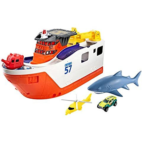 Matchbox Mission: Marine Rescue Shark Ship (Discontinued by manufacturer) by Matchbox
