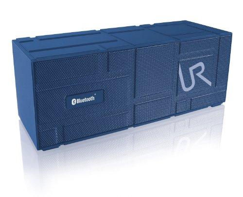 Trust Urban Streetbeat - Altavoz portátil Bluetooth (estéreo, alcance hasta 10 metros), azul