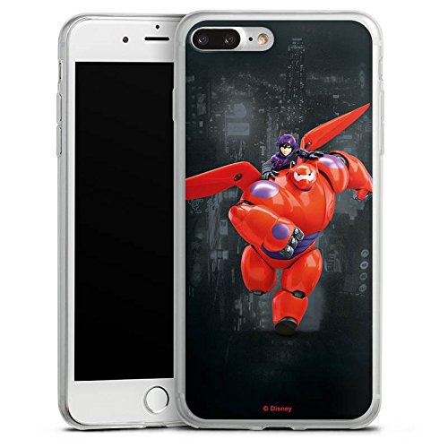 Apple iPhone 8 Slim Case Silikon Hülle Schutzhülle Disney Baymax Merchandise Fanartikel Silikon Slim Case transparent