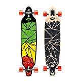 Osprey Shapes Twin Tip Longboard, Multicolour, 39 x 9 Inches, 70 x 51