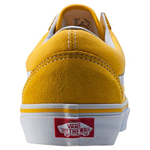 Vans Old Skool Suede Canvas Spectra Yellow yellow