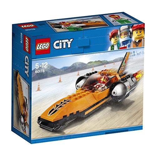 LEGO City 60178 - Starke Fahrzeuge Raketenauto, Konstruktionsspielzeug (Lego City Jet)