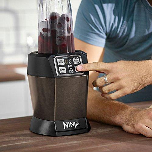 Nutri Ninja 1000W Blender with Auto-iQ - BL480UKMO - Mocha