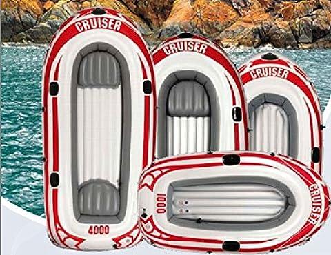 Schlauchboot CRUISER 3000, Jilong, JL07008-5N, 2+1 Personen, 252 x 125 x 40 cm, aufblasbares Boot, für 2 Erwachsene & 1 Kind, inklusive Paddel und Fußpumpe, max. Belastbarkeit 265 kg, Izzy Sport