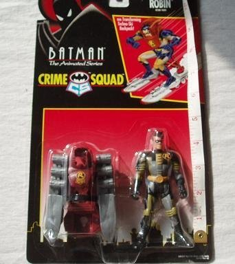 Ski Blast Robin Action Figure by Batman: The Animated Series Crime Squad -