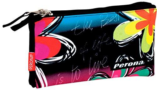 Perona 53791 2017 Estuches, 22 cm, Multicolor