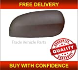 Trade Vehicle Parts OP4006 Door Wing Mirror Cover Black Driver Side