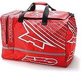 Axo FT9A0052RW Borse Cilindriche Weekender, Rosso/Bianco, Taglia Unica