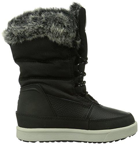 Hummel Hummel Snow Boot Jr Fur Lace, Bottes de neige de hauteur moyenne, doublure chaude mixte enfant Noir (Black 2001)