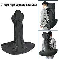 Ligero al aire libre de la lona tipo T Bow Case Archery Hunting Crossbow Bag