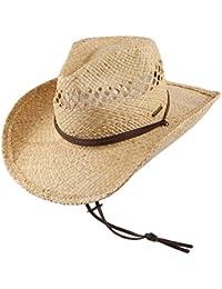 Chapeau de Cowboy en Paille Larimore beige STETSON