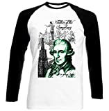 Photo de TEESQUARE1st Men's Joseph Haydn Composer Black Long Sleeved T-Shirt par TEESQUARE1st