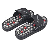 BYRIVER Acupressure Foot Massage Mat Roller Reflexology Massage Tools Pain Relief Health Shoes Relaxation Gifts for Parents(BL)