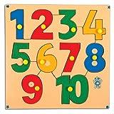 Skillofun Wooden Numerical Shape Tray 1-...