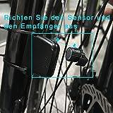 BIFY Fahrradcomputer Fahrradcomputer Kabellos Tachometer 20 Funktion Großbildschirm Touch Lichtsteuerung LCD Hintergrundbeleuchtung Fahrrad Meter Kilometerzähler - 7