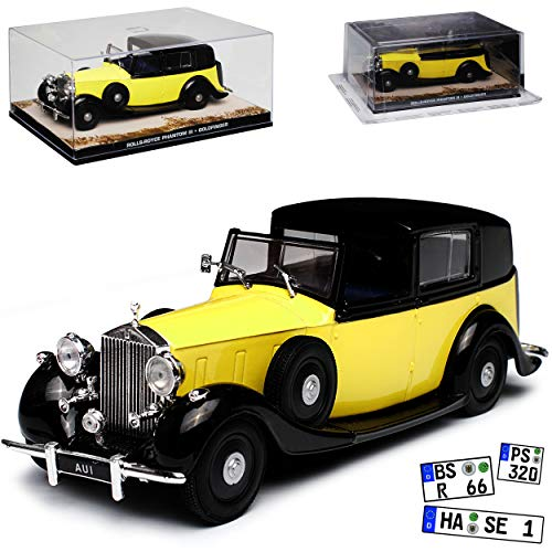 Rolls-Royce Phantom III Goldfinger James Bond 007 1/43 Ixo Modell Auto - Modell Phantom Rolls-royce