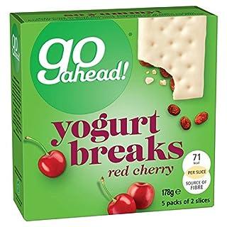 Go Ahead Yoghurt Breaks Red Cherry 5 per pack