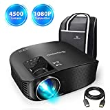 VANKYO Leisure 510 Full HD Projector with 3600 Lumens, Video Projector with 200""