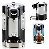 Express-Wasserkocher - Quigg Tee-Kocher (1,5Liter Wasserbehälter, starke 3000Watt, kabellos, Farbe: weiß)
