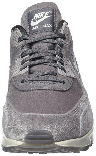 Nike Wmns Air Max 90 LX, Scarpe da Ginnastica Donna Grigio (Gunsmoke/Gunsmoke/Atmosphere G)