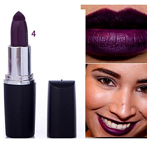 Liquidation !!! OSYARD Beauté Imperméable Vampire Style 8 Couleurs Cosmétique Stick Longue durée Rouge à lèvres(#04)