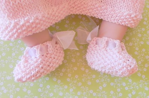 Heel Bow Knit Baby Shoes Pattern (English Edition) Bow Heels