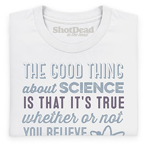 The Good Thing About Science T-Shirt, Herren Wei