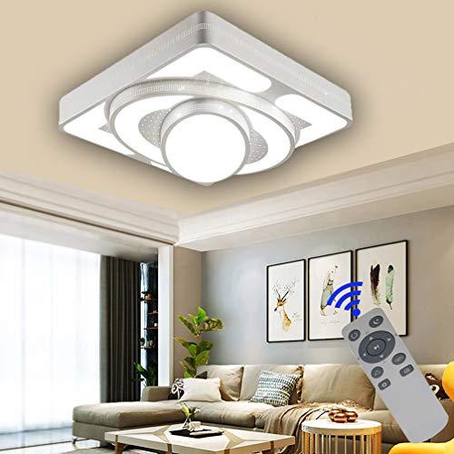 BFYLIN Moderno 48W lámpara de techo lámpara de techo con mando a distancia lámpara de techo regulable lámpara de techo salon lámpara de techo cocina lámpara de techo habitación De Energía De Luz De