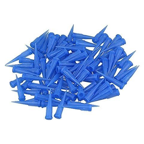 BQLZR Blau 22 Spur TT Blunt Dispensing Tapered Nadelspitzen Packung mit 100 St¨¹ck