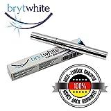 Brytwhite Stylo Gel Blanchisseur de Dents | Kit Blanchiment Dentaire | sans Peroxide - Ingrédients Naturels (même que dans les bandes de blanchiment dentaire) - sans danger pour l'émail des dents