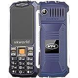 Vkworld Stone V3S / Zilong Teléfono Móvil Impermeable de IP54 Protección a Prueba de Agua y Polvo y Golpes con Batería 2200mAh que Trabaja 720 horas para Exterior ( Azul )