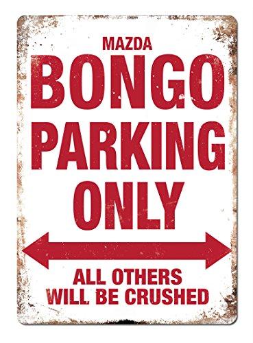 mazda-bongo-parking-only-metal-wall-sign-plaque-camper-friendee