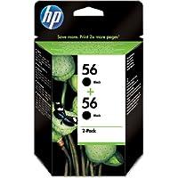 Hewlett Packard C9502AE#301 - Cartucho Inyeccion Tinta Negro 56 1.040 Páginas Pack 2 Blister+Alarma Acústico/ Electromagnética/ Radiofrecuencia Deskjet/5600 Officejet/5610