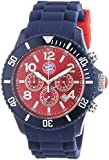 MADISON NEW YORK Herren-Armbanduhr XL Candy Time FC Bayern München Chronograph Silikon U4362-73/2FCB