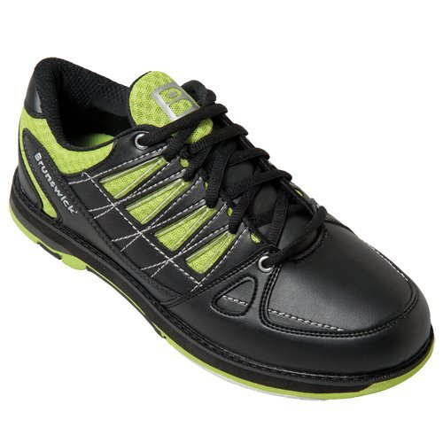 Herren Bowlingschuhe Brunswick Arrow black/lime (42)