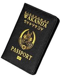 ALIKEEY-Bolsa Pasaporte Holder Protector Wallet Business Card Soft Pasaporte Cover MontañIsmo Paquete Tarjetas Libros