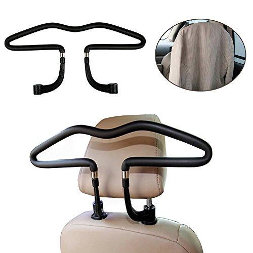 Auto-Kleiderbgel-Autokleiderbgel-fr-Kopfsttze-Kopfsttzen-Kleiderbgel-hochwertige-Ausfhrung-Chrom-Kleiderbgel-Car-Headrest-Hanger-fr-Kopfsttze-Halter-fr-Kleiderbuegel-Kleidung-Anzuege-Jacke-Shirts-Klei