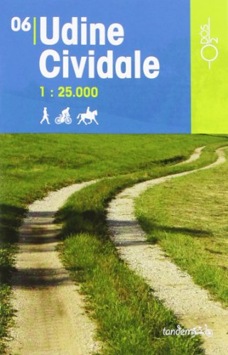 Udine Cividale 1:25.000 (Tandem)