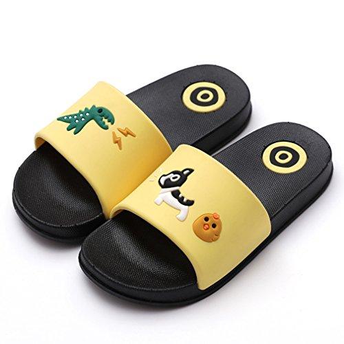 KVbaby Enfants Pantoufles de Bain Pantoufles Maison d'été Piscine et Plage Doux Sandales de Pantoufles pour Garcon et Filles Antidérapant