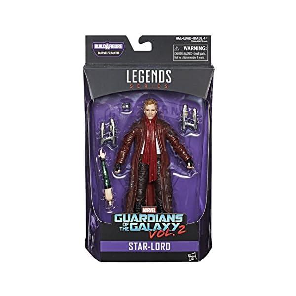 Marvel Guardianes de la Galaxy Leyendas Series Star-Lord, 15,2cm 1