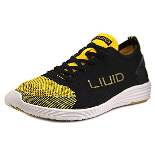 Liuid Alicia 1 Damen Stoff Turnschuhe Black/Gold