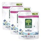 L'arbre vert Recharge Lessive Liquide Brise Hivernale 30 Lavages 2 L - Lot de 3