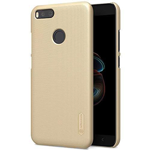 SMTR XiaoMi MI A1 Funda, Cubierta Slim Armor Funda +1 film Protector de pantalla para XiaoMi MI A1 ,(Slim Fit Series - Dorado)