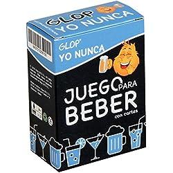 Glop Yo Nunca - Juego para Beber - Juego de beber con Cartas para Fiestas - 100 Cartas
