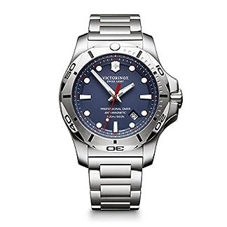 Victorinox Reloj analógico para Hombre de Cuarzo con Correa en Acero Inoxidable 241782