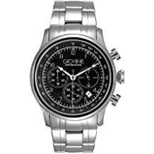 Reloj cuarzo para hombre Giovine Casanova Chrono OGI004/C/MB/SS/NR