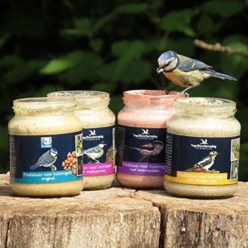 Gute Erdnussbutter (C.J Wildlife Erdnussbutter für Gartenvögel - Set (4 x 330g))