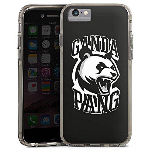 Apple iPhone 7 Bumper Hülle Bumper Case Glitzer Hülle Cro Merchandise Fanartikel Merchandising Pour Supporters Bumper Case transparent grau